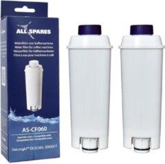 De'Longhi DLSC002 / SER3017 Waterfilter - Waterfilterpatronen van AllSpares - 2 Waterfilters