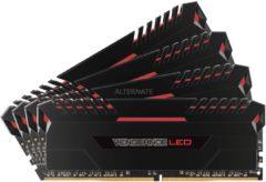 Corsair Microsystems Corsair Vengeance LED - DDR4 - 32 GB: 4 x 8 GB CMU32GX4M4C3000C15R