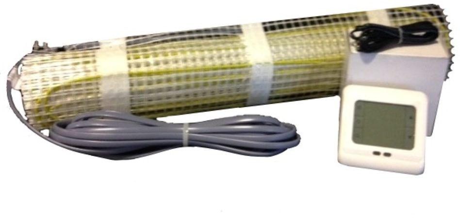 Afbeelding van Best Design Vloerverwarming Cheap elektrisch 5,0 m2 mat. incl. digitaal thermostaat