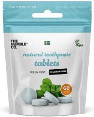 Humble Brush Humble Tandenpoets tabletten zonder fluoride 60 stuks
