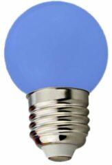 Groenovatie E27 LED Lamp G45 1.5W Blauw