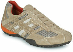 Geox - U 4207 L - Instapper casual - Heren - Maat 46 - Beige - 0845 -Beige/Dark Orange