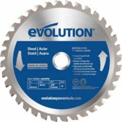 Evolution EVO 180mm zaagblad voor ijzer