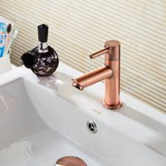 Douche Concurrent Toiletkraan Saniclear Koper 1 Greeps Geborsteld Koper