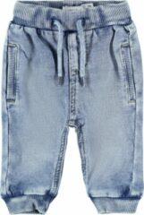 Lichtblauwe NAME IT BABY NBMROMEO DNMBATRUEBOS 1481 SWE PANT Jongens Jeans - Maat 56