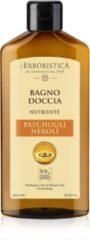 L'erboristica Natuurlijke bad- en douchegel op basis van Patchouli & Neroli (400 ml) Vegan, vrij van parabenen en siliconen