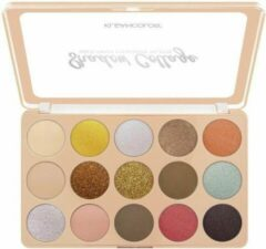Rode Kleancolor Shadow Collage Multi Finish Eyeshadow Palette - ES201 Patchwork