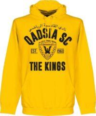 Groene Retake Qadsia SC Established Hoodie - Geel - XXL