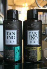 SALVATORE TANINO THERAPY - keratine behandeling met tanino - 100 ML A&B