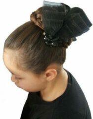 Jessidress Feestelijke haarclip met strass - Zwart