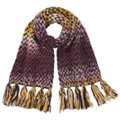 Barts - Women's Nicole Scarf - Sjaal maat One Size, zwart/bruin/grijs