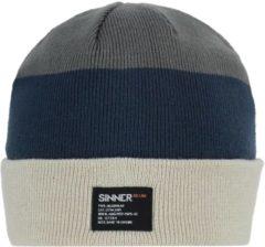 Blauwe SINNER Leduc Muts Unisex - One Size