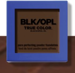 Black Opal True Color Pore Perfecting Powder Foundation – Ebony Brown (740) – met Shade ID