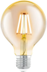 Club Manhattan EGLO led-lamp vintage look E27 G80 amberkleurig 11556