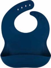 Marineblauwe Ricama Siliconen slab - navy blauw