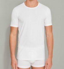 Schiesser Heren Shirt 1/2 - Wit - 2 pack- R Hals-Maat XL