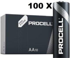 100 Stuks DURACELL Procell AA, LR06 penlite batterijen