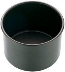 Grijze Ronde bakvorm met losse bodem extra diep, 10cm - Masterclass