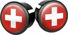Velox Stuurdoppen Zwitserland 20 Mm Rood/wit