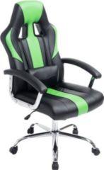 CLP Chefsessel OLYMP mit hochwertiger Polsterung und Kunstlederbezug Höhenverstellbarer Gaming-Bürostuhl mit Leichtlaufrollen und drehbarem Sitz In
