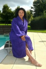 Paarse ARTG Robezz® Badjas met Capuchon - Purple - XXS