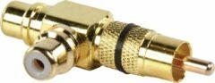 Gouden Goobay RCA - 2xRCA