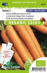 Oranje Sluis Garden - Wortel Nantes 2 Biologisch Zaadlint 5m