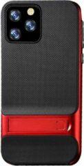 Able & Borret Smartphone hoesje | Telefoon hoesje | Anti shock | Kick stand | Rood | Iphone 11 Pro Max