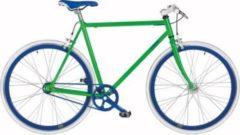 Fausto Coppi 28 Zoll Fixed Gear Fahrrad Coppi Scatto... grün, 57cm