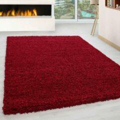 Carpetenmeer.nl Life - Vloerkleed - Rood - Ø 120cm Rond