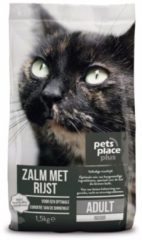 Pets Place Plus Kat Adults Indoor Zalm - Kattenvoer - 1.5 kg
