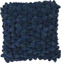 Haans Lifestyle Kussen Pebble blauw - 45x45cm