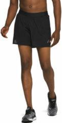 Asics - Ventilate 2-n-1 5in Short - Hardloopbroeken maat S, zwart/bruin