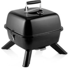 Zwarte Princess 01.112256.01.001 Electric, Charcoal Electric grill Thermometer in lid Black