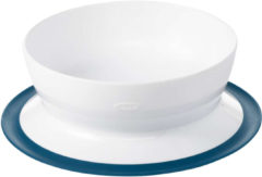 Blauwe Oxo Tot Stick & Stay Bowl / Schaaltje Navy