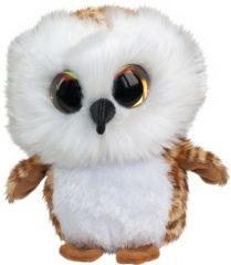 Bruine Selecta Spel en Hobby Lumo Owl Uggla - Classic - 15cm