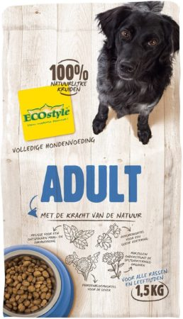 Afbeelding van Ecostyle VitaalCompleet Universeel Hondenvoer - 1.5 kg