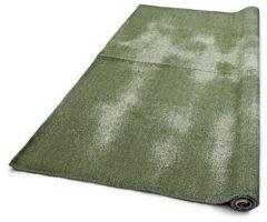 Groene Vtwonen Runner Sleets Karpet 130 x 200 cm - Legergroen