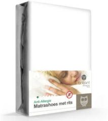 Witte Briljant Baby Matrasbeschermer Evolon anti-huisstofmijt 20 cm - Matras - Max hoekhoogte: 30 cm