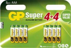 GP Super Alkaline AAA Micro penlite, multipack 8