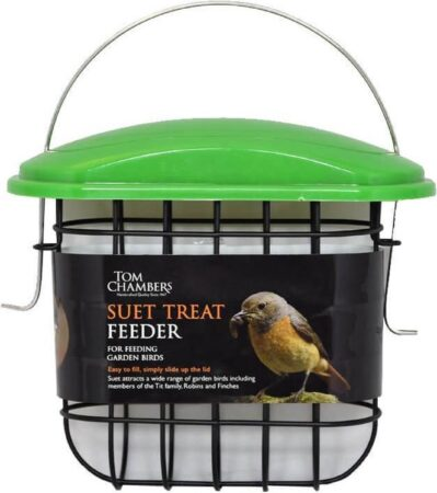 Afbeelding van Groene Tom Chambers Vogelvoederautomaat - Suet Treat feeder