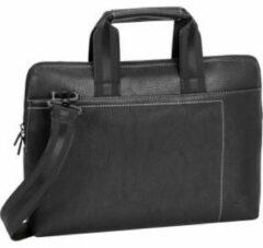 Riva Case RivaCase 8920 (PU) - Laptop Schoudertas - 13.3 Inch - Extra vak voor 10.1 Inch tablet - Zwart