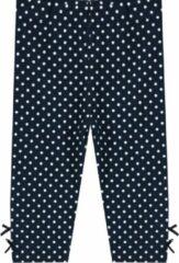 Ducky Beau Legging Dots- Donkerblauw - Maat 80