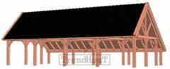 Van Kooten Tuin en Buitenleven Kapschuur de Hofstee XXL 1250x720 cm