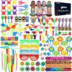 Partizzle® 126x Traktatie Uitdeelcadeautjes voor Kinderen - Grabbelton Cadeautjes - Klein Speelgoed