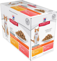 Hill's Science Plan - Feline Young Adult - Sterilised Fav. Selection 12x85g