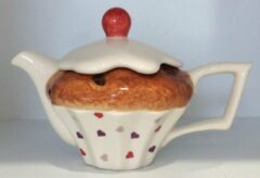 The TeaPottery Ceramic Inspirations Tea Pottery Cake 1 Cup Teapot