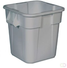 Afvalbak Rubbermaid Vierkante Brute Container 106 liter, Grijs