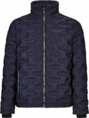 Donkerblauwe Killtec - Faco - Jas in donsoptiek - heren - dark navy - maat M