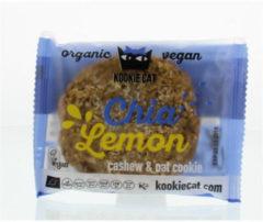 Kookie Cat Koek Chia Lemon